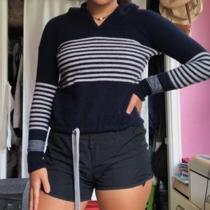 Vineyard Vines Striped Hoodie Sweater